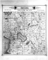 Irving Township, Calhoun Lake, Kandiyohi County 1886